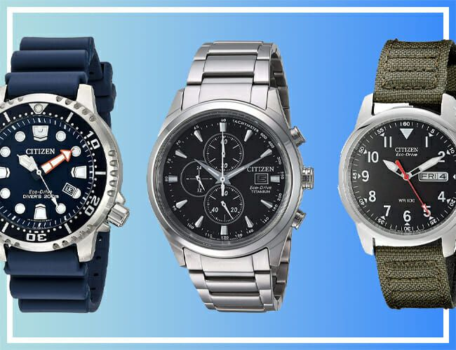 Three Affordable Citizen Watches Are on Sale for Almost 70% Off