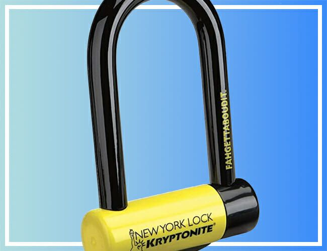 This Discounted Kryptonite Bike Lock Is The Last One You'll Ever Have to Buy