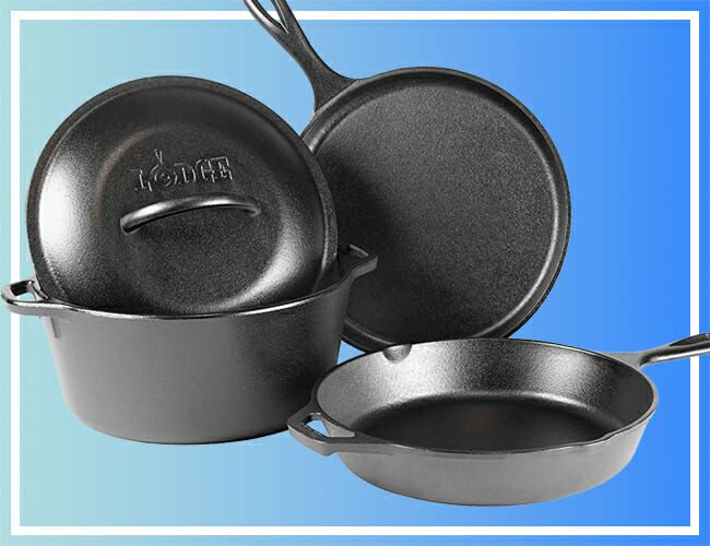 This Entire Lodge Set Is Cheaper Than a Lot of Cast-Iron Skillets