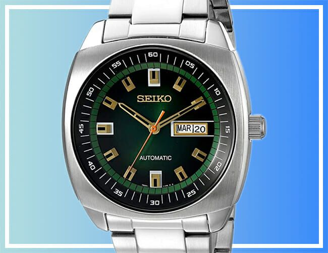 Take 54% Off This Seiko Automatic Watch Today