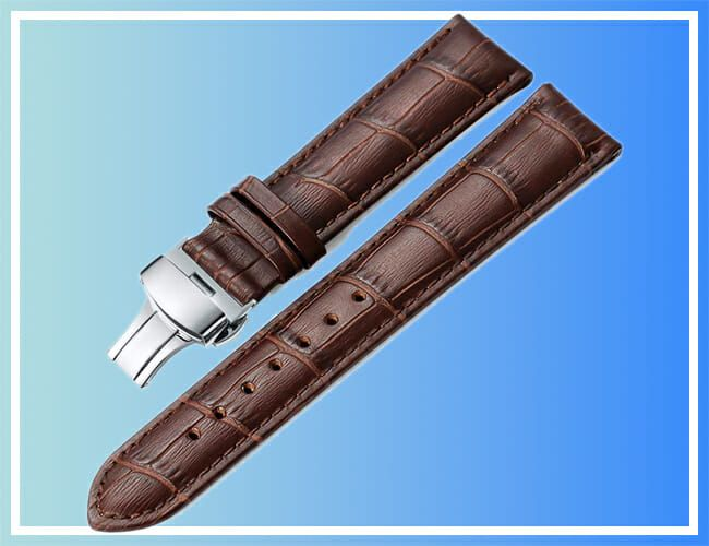 Dress Up Your Dress Watch With These Discounted Leather Watch Straps
