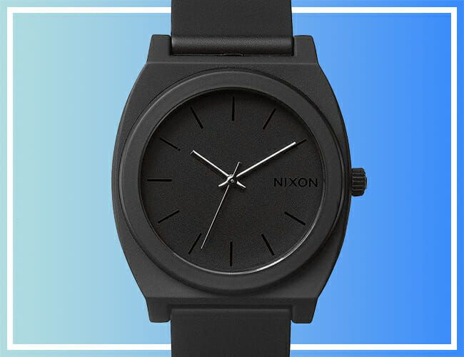 Get This Affordable, Blacked-Out Nixon Watch for Just $60