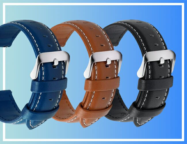 Take 20% Off These Leather Watch Straps Today