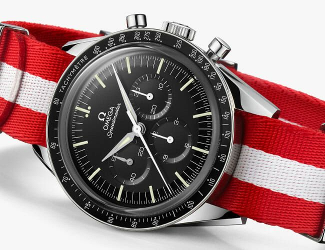 Omega Partnered with The Metropolitan Museum on this New Speedmaster
