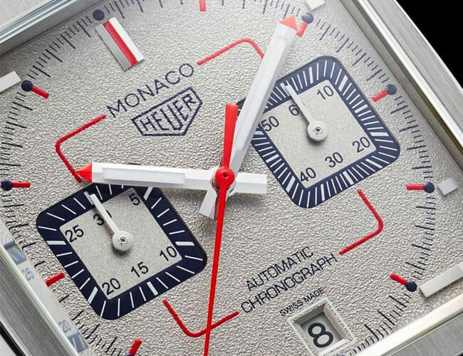 This New Tag Heuer Monaco Automatic Chronograph Watch Celebrates the '90s