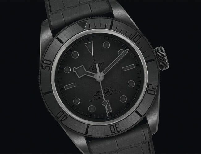 This Blacked-Out Dive Watch Is Completely Unique, and Completely Unavailable