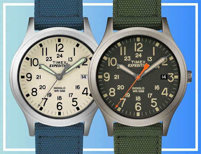 These Timex Field Watches Are Less Than $30 Right Now