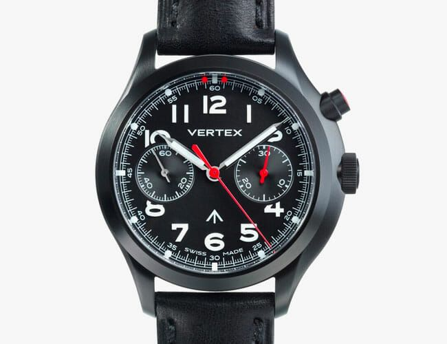 This All-Black Military Chronograph Revives a Badass Watch from 1945