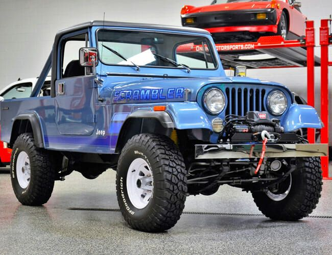 This Beautiful Jeep CJ-8 Could Quench Your Thirst for a 2-Door Gladiator