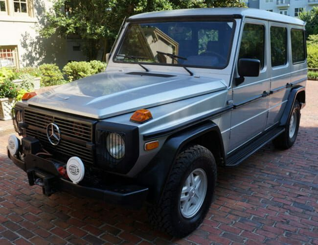 A New Mercedes G-Wagen Is Expensive, So Check Out This Awesome Vintage One