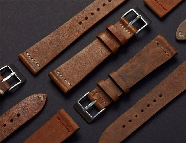 These Are Some of the Best Leather Watch Straps, and They're Available Again