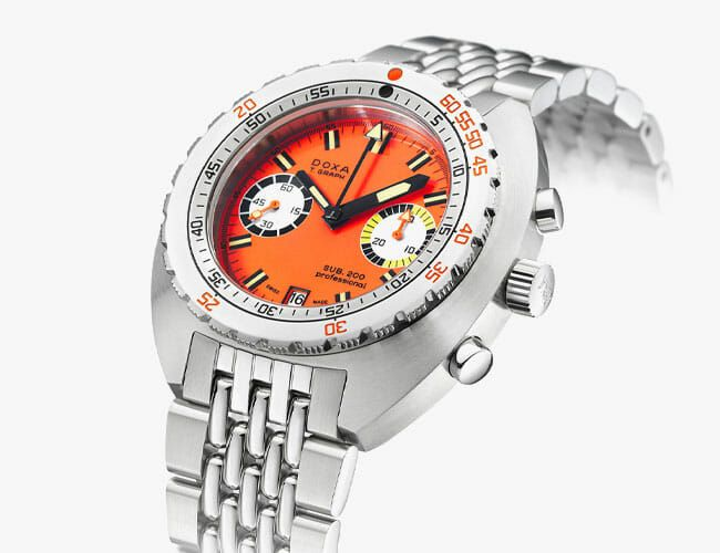 This Beast of a Retro Dive Watch Is Finally Available in Steel