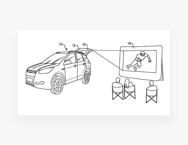 Ford's Newest Patent Could Revolutionize Tailgating and Camping
