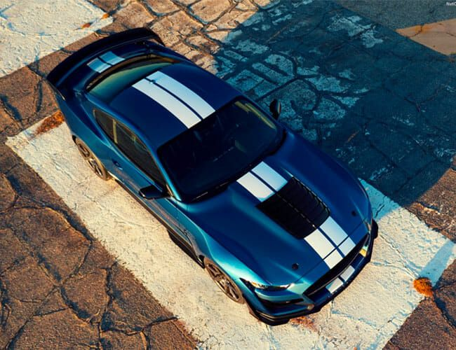The New Shelby GT500's Racing Stripes Are Ridiculously Expensive