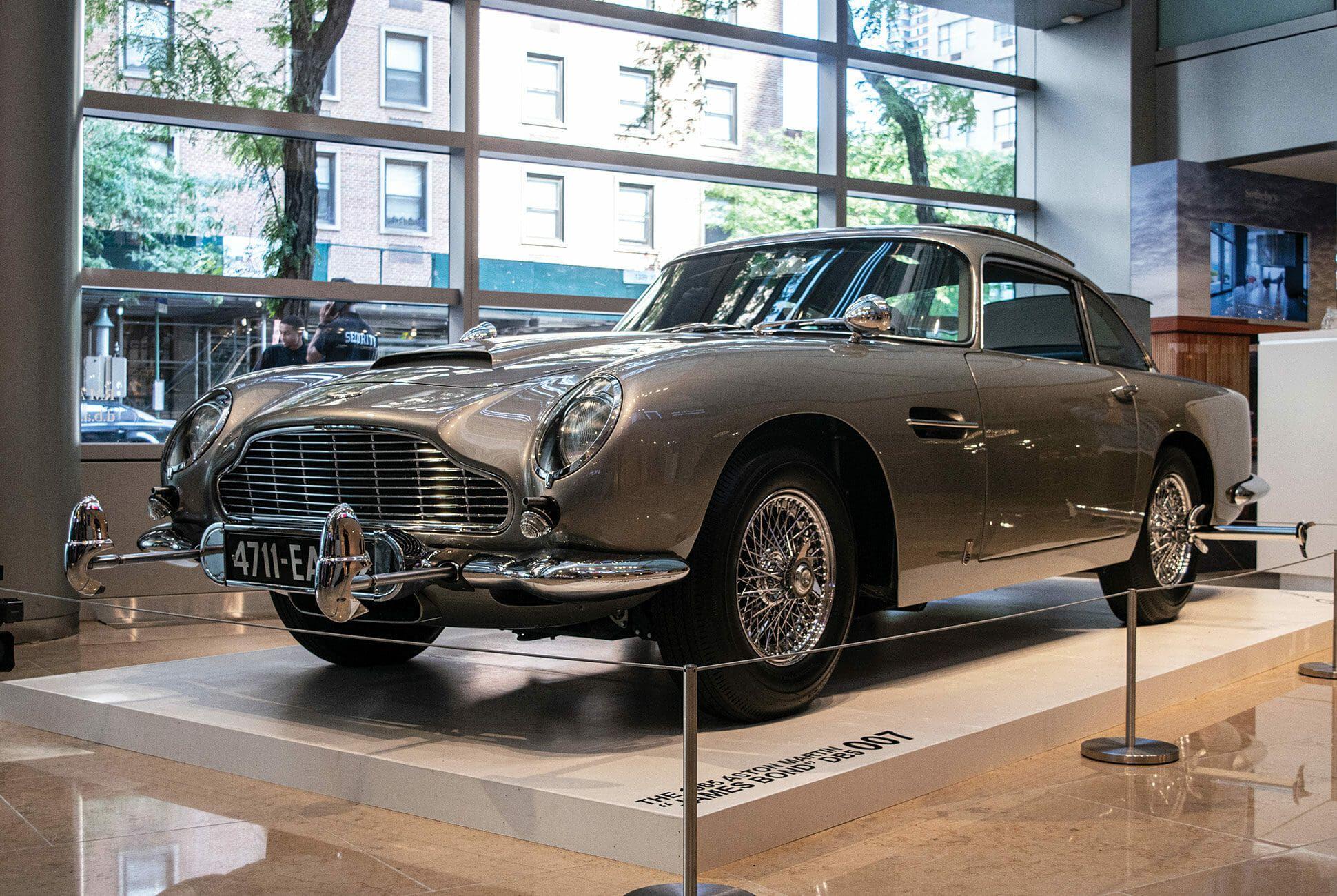 James Bond's Aston Martin Is Heading To Auction. We Saw It