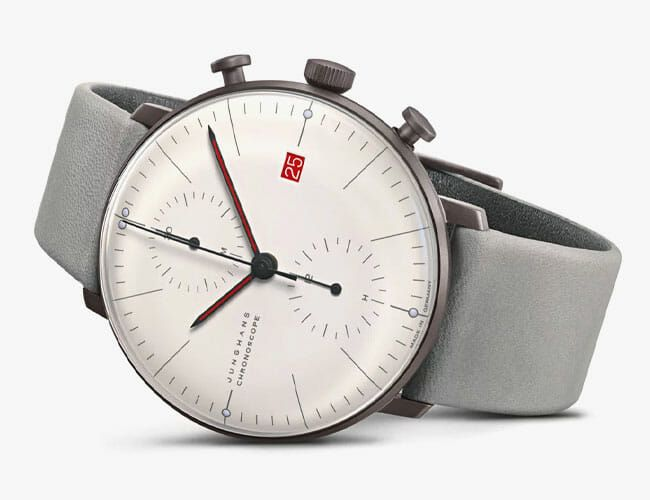 This Stylish Chronograph Watch Celebrates One of the Most Influential Design Movements Ever
