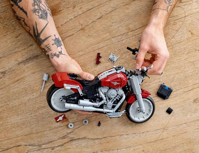 Lego, Harley-Davidson Join Forces to Create the Ultimate Motorcycle Model