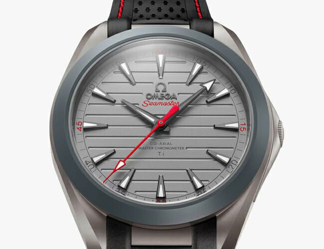 This Lightweight New Omega Watch Is Made Almost Entirely from Titanium