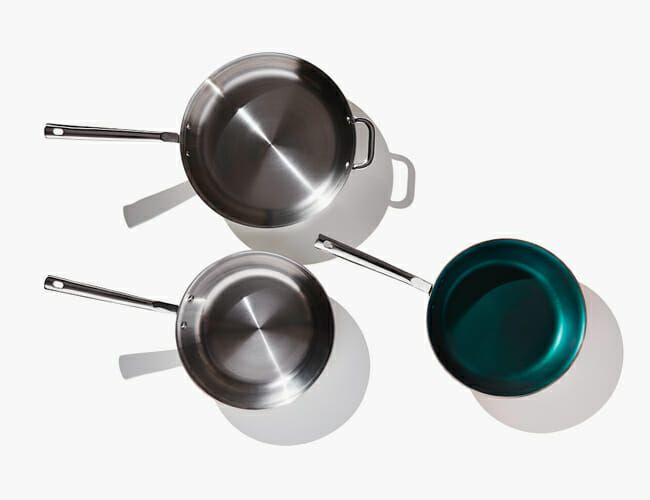 Even at $95, These Stainless Steel Skillets Are an Absolute Steal