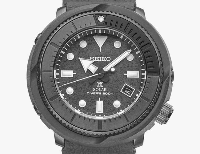 Get This Badass Seiko Dive Watch for Just $306
