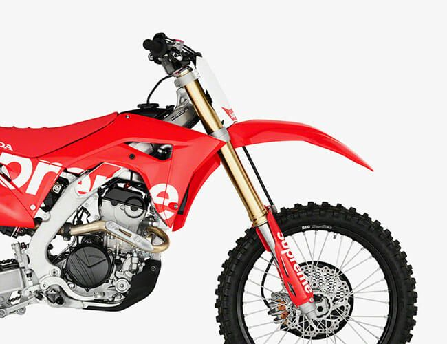Supreme Collaborated With Honda on This Rad Dirt Bike