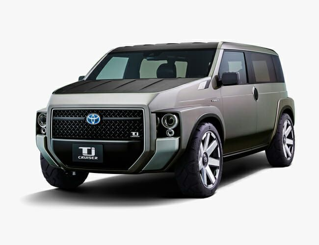 Toyota May Build a Land Cruiser Homage That's Also Part Van