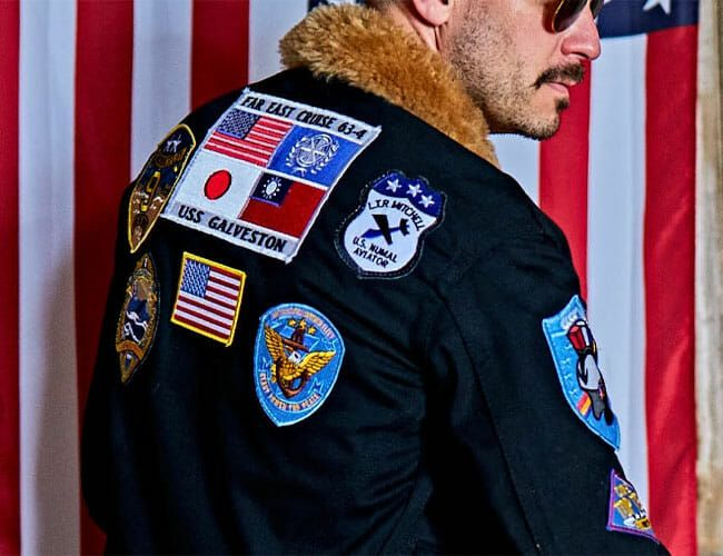 Top Gun Fans Will Love This Limited-Edition Bomber Jacket