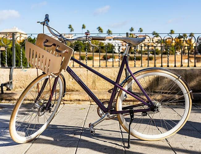 You'll Never Believe the Recycled Material This Bike Is Made of