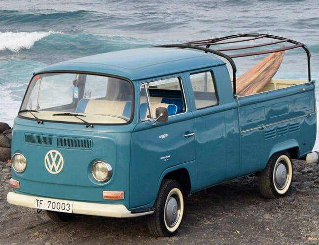 This VW Van-Pickup Truck Hybrid Could Be the Ultimate Beach Car