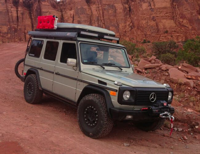 This Cheap Mercedes G-Wagen Could Be Your Awesome Overlanding Rig