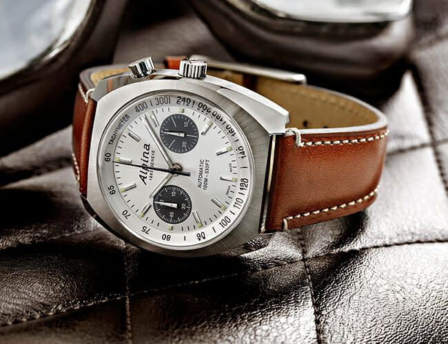 This Retro-Styled Chronograph Watch Features an Uncommon Movement