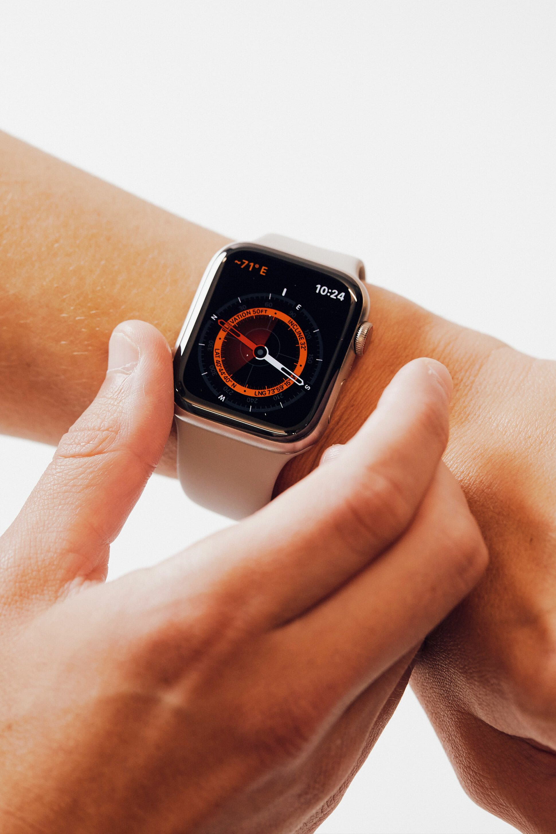 Zifferblätter Apple Watch 5