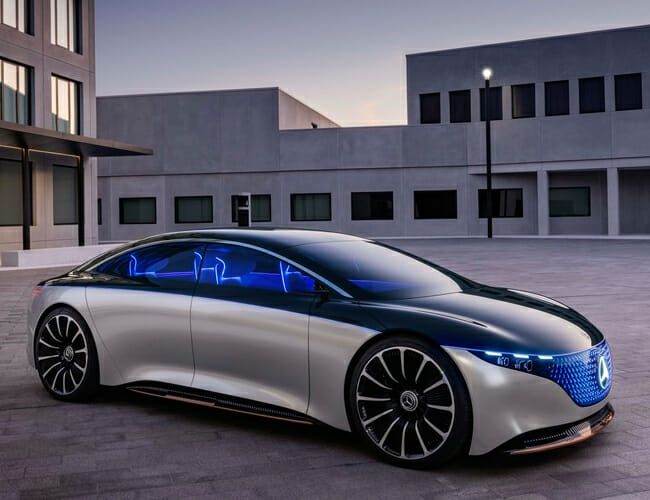 Mercedes-Benz's New Electric Concept Car Heralds the Future of the Brand