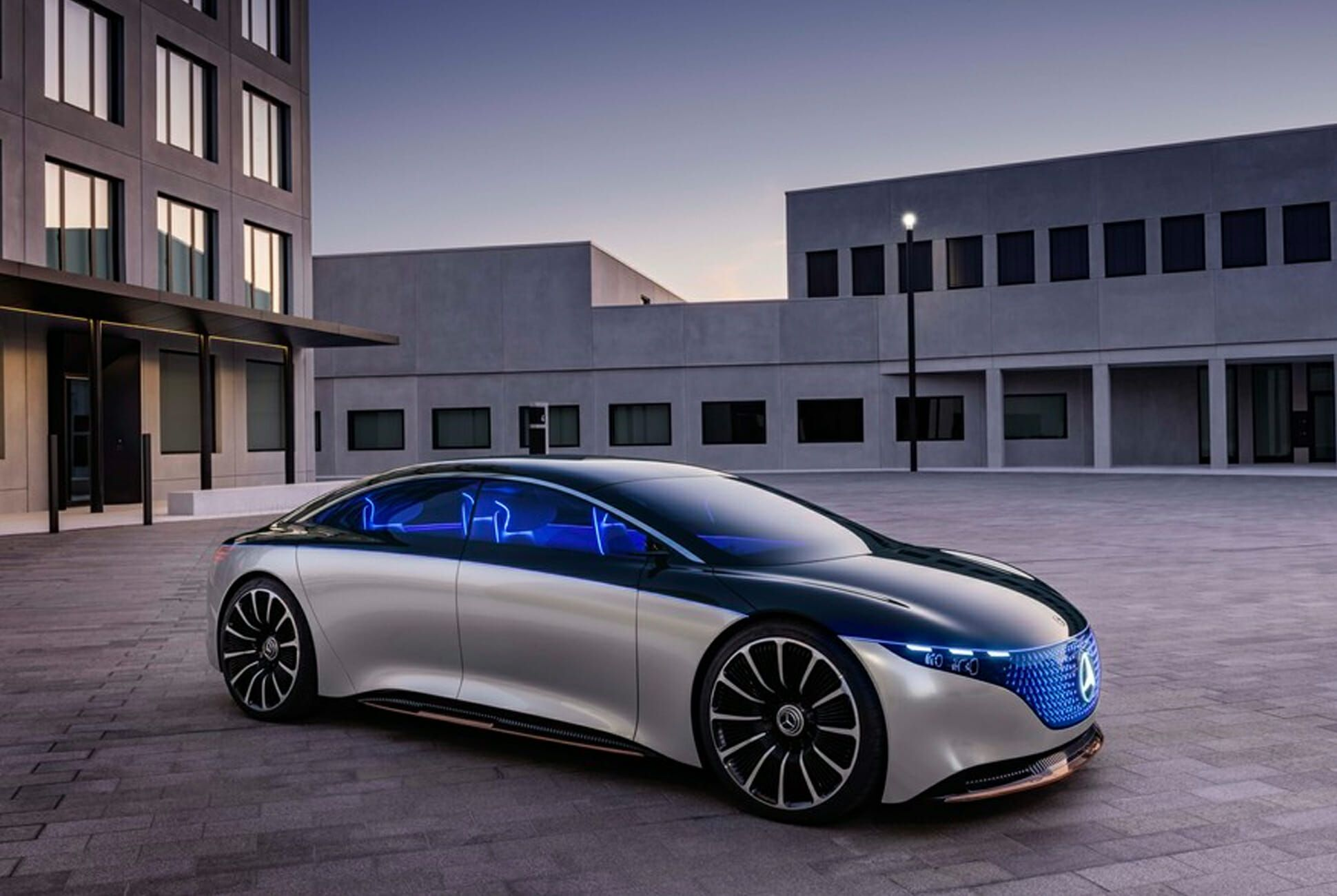 Mercedes-Benz's New EQS Electric Concept Car Is the Future ...