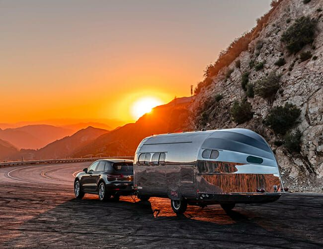 This Gorgeous Camping Trailer Will Make You Feel Like You're on a Yacht