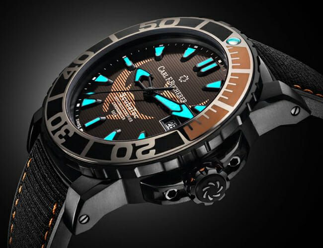 This All-Black Dive Watch Is Helping to Save Manta Rays