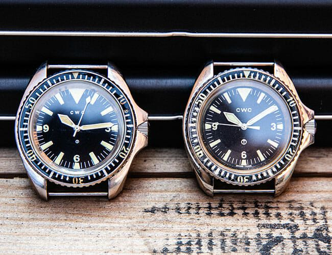 These Vintage Military Watches Were Issued to British Forces