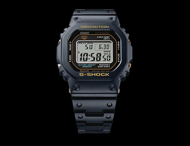 Why Is This New G-Shock Over $1,000? One Word: Titanium