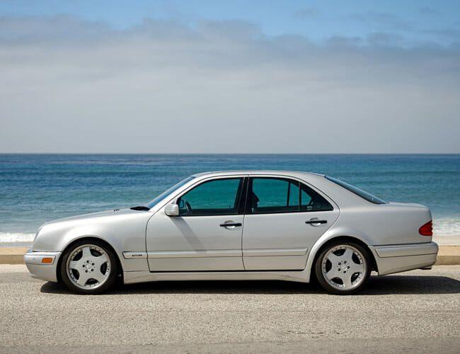 Driving Jerry Seinfeld's Mercedes-Benz E60 Renntech RS
