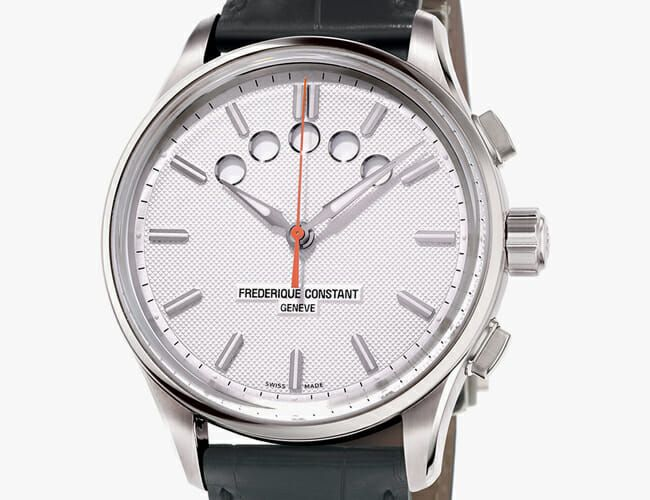 This Classically Styled Watch Looks Totally Different from Most Modern Chronographs