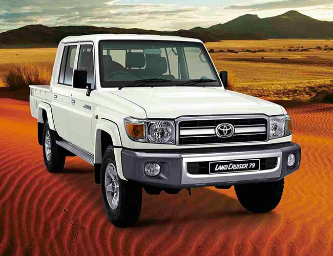 You Can Still Buy a Brand-New, Old-School Toyota Land Cruiser. Just Not in America