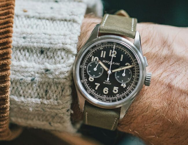 This Chronograph Watch Comes with a Paid Trip to Switzerland
