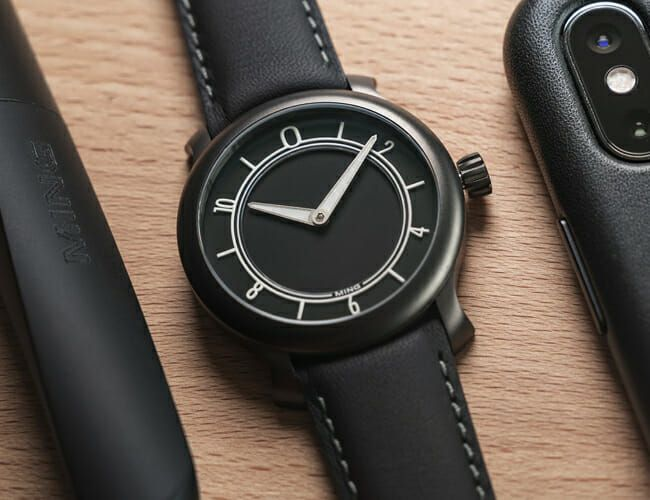This Blacked-Out Watch Is Finally Available In Steel
