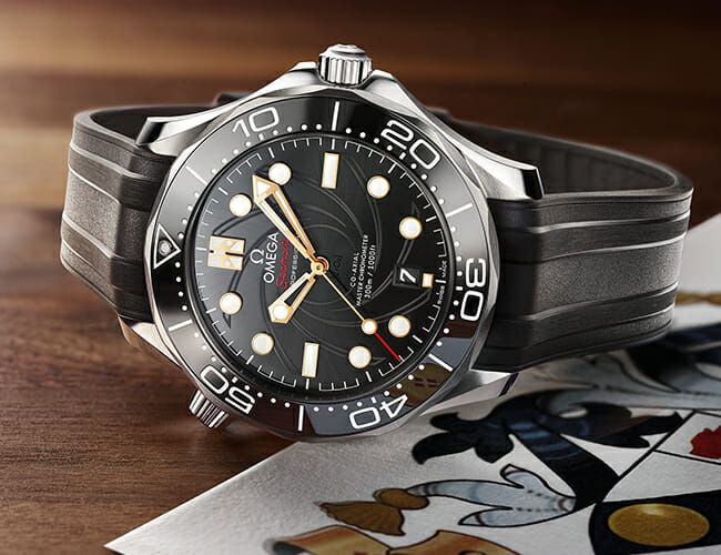 This Omega Seamaster Dive Watch Celebrates a Classic James Bond Film