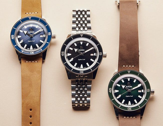 Our Top Picks from Rado's New Captain Cook Collection