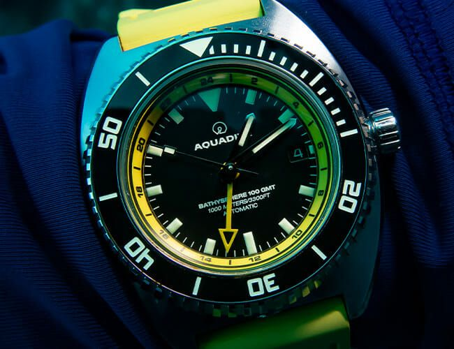 Scuba Diving in Bonaire with Aquadive Dive Watches