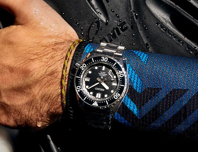 Seiko's Hardcore Luxury Diver Is Equally Rugged and Sophisticated