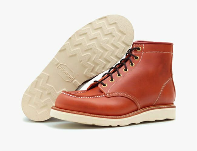 These Look Like Your Favorite Leather Boots, But They're Made in Japan