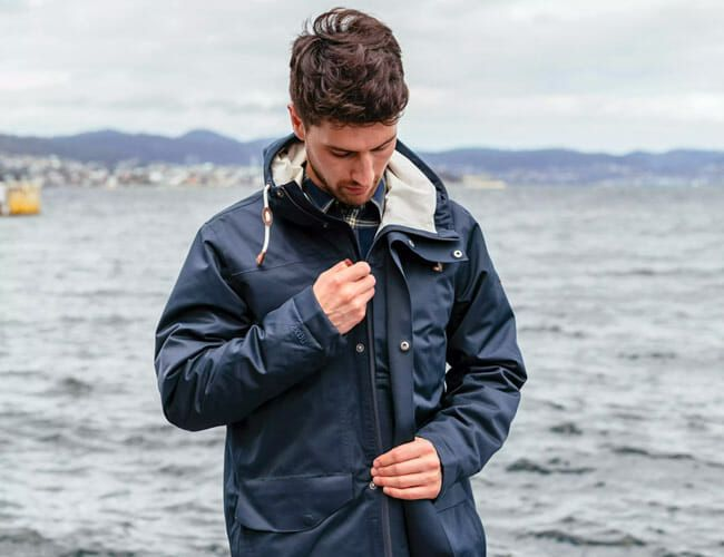 Keep Fall Showers at Bay with This Sustainable Jacket