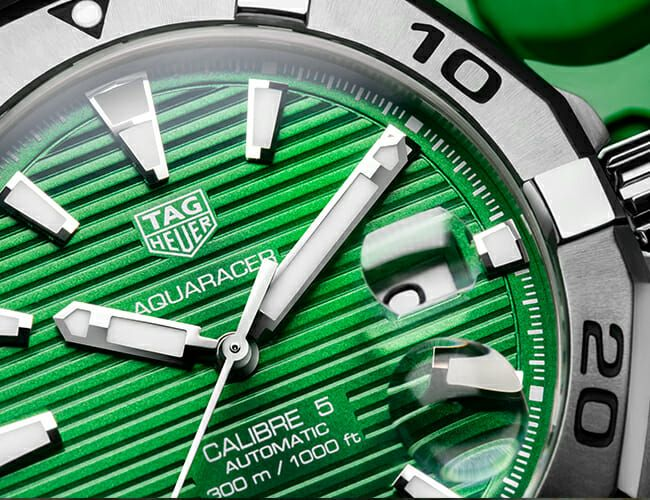 This Dive Watch Now Comes in a Striking Green Dial
